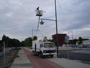 Aanleg en onderhoud aan openbare verlichting